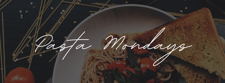 Pasta Mondays facebook cover